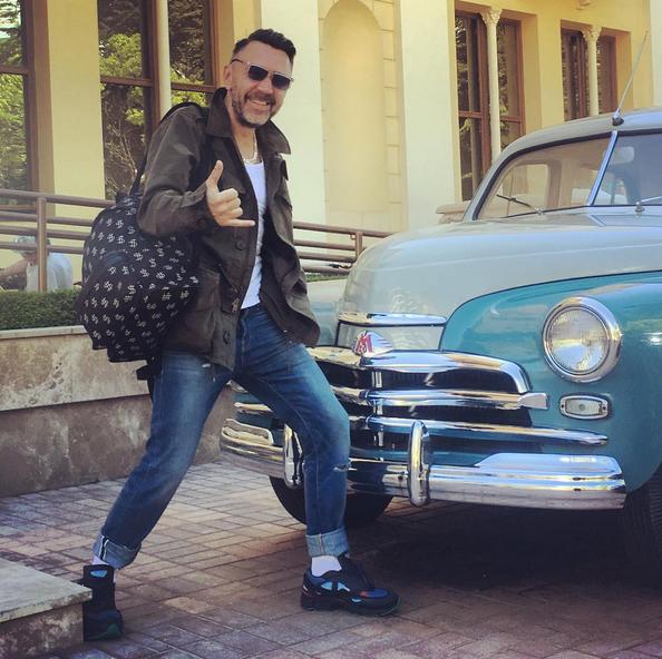 Сергей Шнуров. Фото Instagram Сергея Шнурова.
