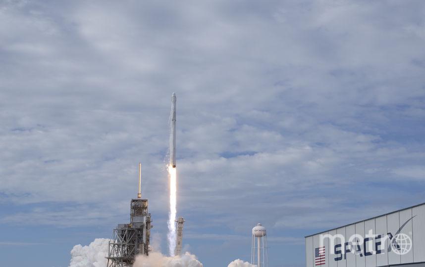 Запуск Falcon 9. Фото Getty