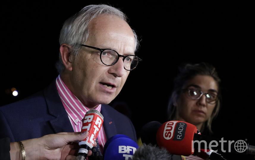 Заместитель прокурора Эрик де Вальрогер. Фото AFP
