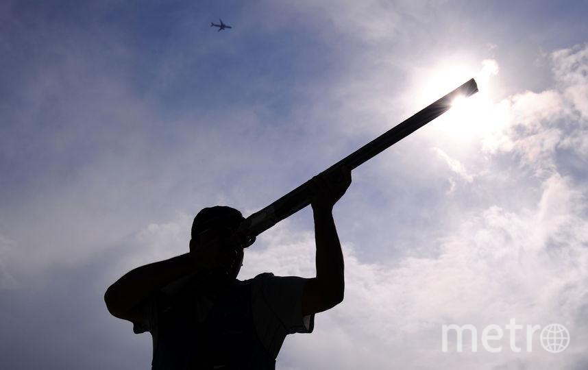 Мужчина с ружьём. Фото Getty