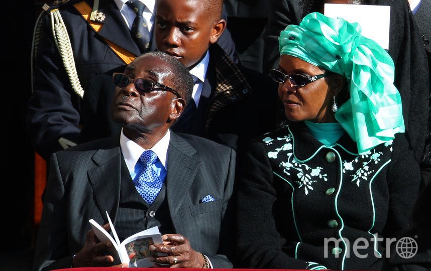 Супругу президента Зимбабве обвинили визбиении девушки вЮАР