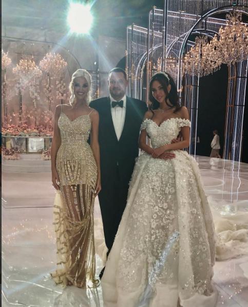 Свадьба Шаповалова и Царицыной в Москве была шикарной.