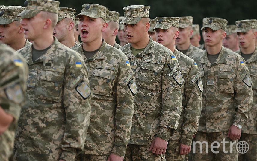 Украинские солдаты. Фото Getty