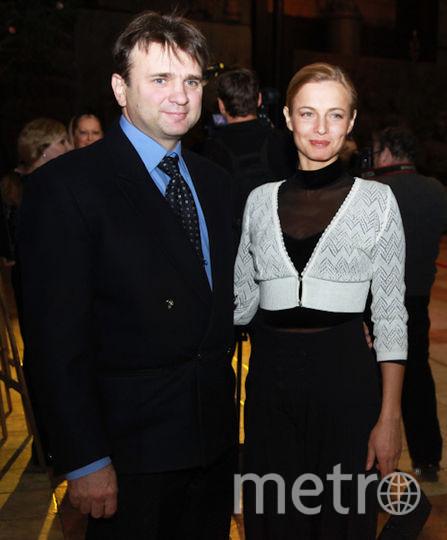 Тимур Кизяков с супругой Еленой. Фото РИА Новости