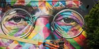 На родине Бэнкси прошёл крупнейший фестиваль граффити: фото лучших арт-объектов