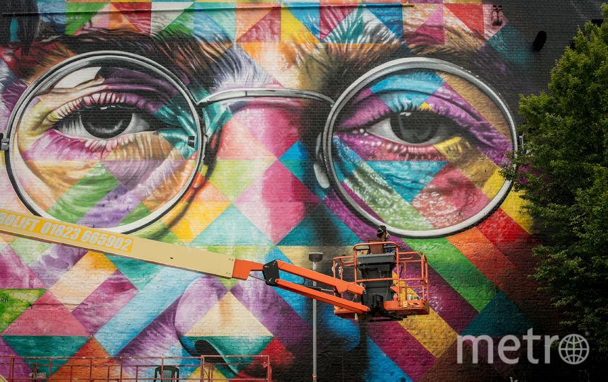 На родине Бэнкси прошёл крупнейший фестиваль граффити: фото лучших арт-объектов. Фото Getty