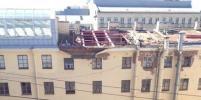 С крыши на Невском упал рабочий