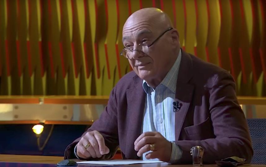Владимир Познер. Фото Скриншот Youtube