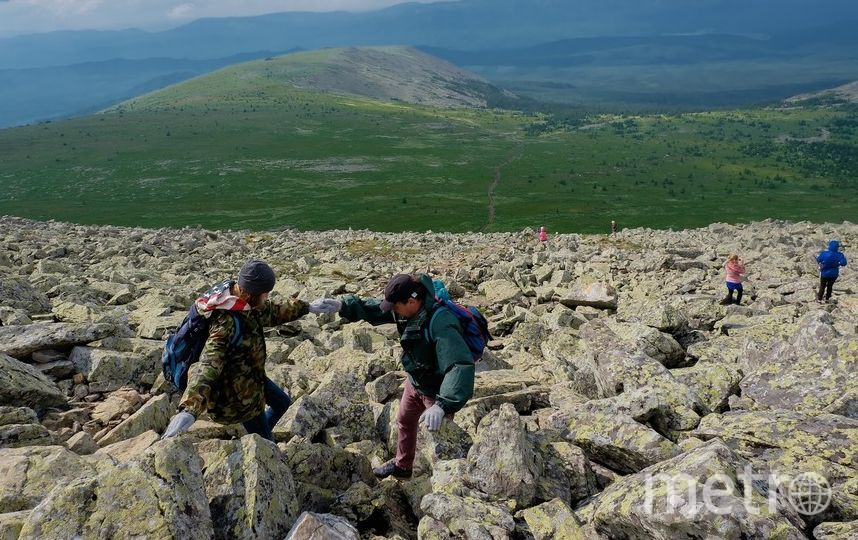 """Высота горы Иремель – 1582 метра над уровнем моря, это вторая по величине вершина Южного Урала. Фото Алена Бобрович., """"Metro"""""""