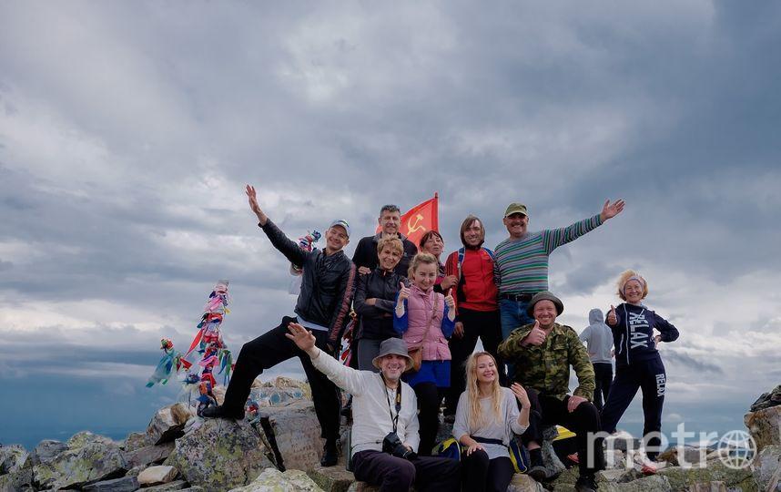"""Наша группа на вершине Иремеля. Фото Алена Бобрович., """"Metro"""""""