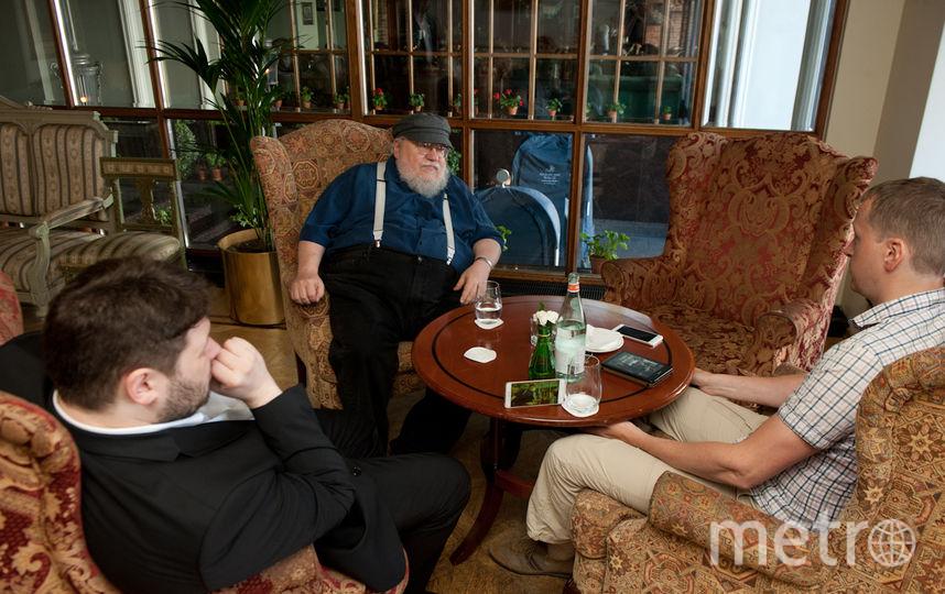 "Джордж Р. Р. Мартин дал интервью Metro. Фото ""Metro"""