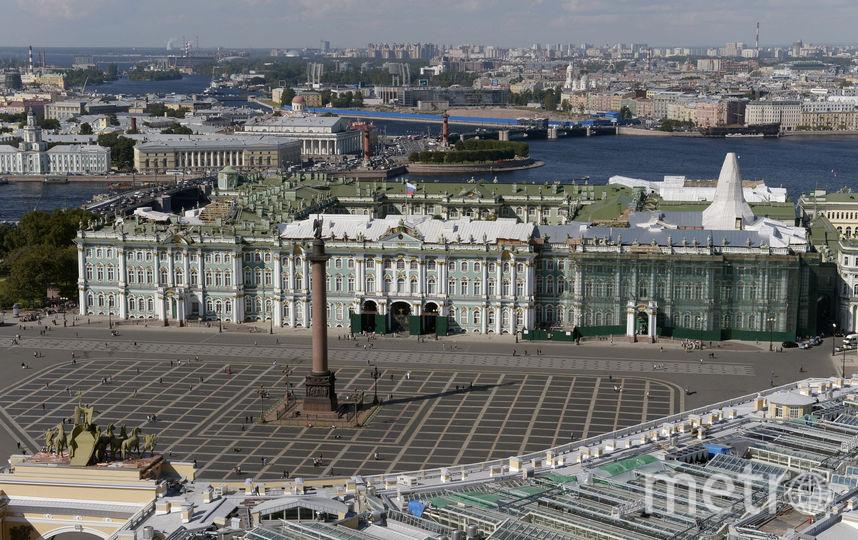 Петербург за полгода посетили 4 миллиона туристов. Фото Getty