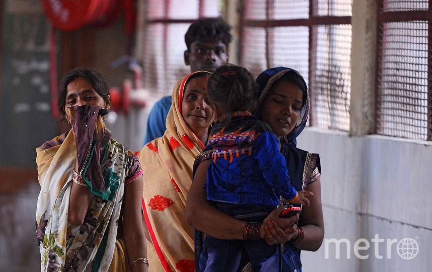 В Индии десятилетняя девочка родила ребёнка, даже не подозревая об этом. Фото Архивное фото., AFP