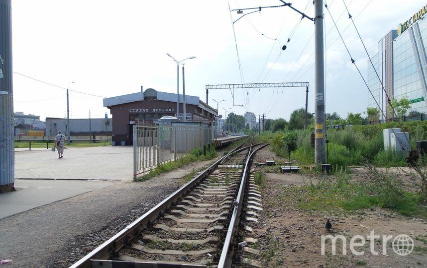 Молодая петербурженка погибла под колесами электрички врайоне станции Старая Деревня