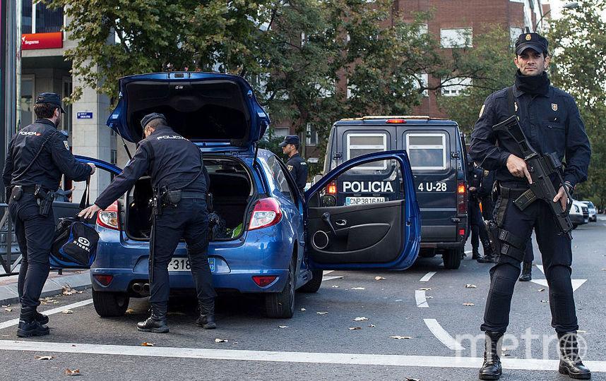 Испанская полиция. Фото Getty