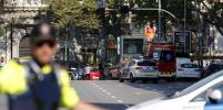 Полиция Барселоны назвала наезд на толпу терактом: есть двое погибших