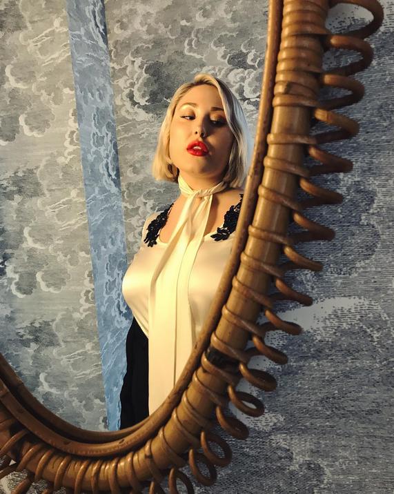 Артхаусная пышка-модель покоряет Instagram. Фото Скриншот/Instagram: hhasselhoff