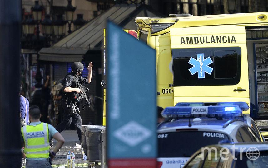 Люди с ужасом бежали с площади Рамбла. Фото AFP