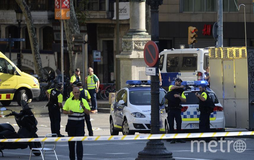 Фотографии с места теракта. Фото AFP