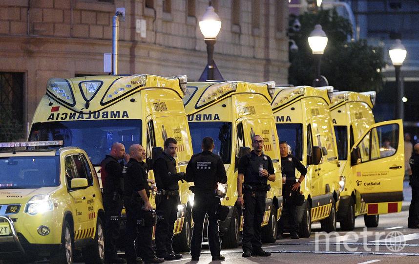 Фото с места теракта в Барселоне 17 августа. Фото Getty