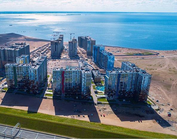 ЖК на намыве Васильевского острова | instagram @air.voyager.