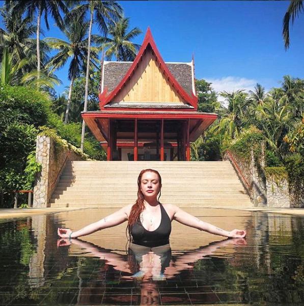 Линдси Лохан. Фото instagram.com/lindsaylohan/?hl=ru