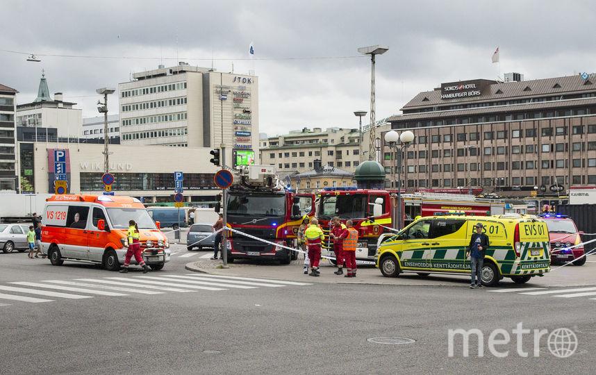 Нападение на прохожих в Финляндии: количество жертв увеличилось. Фото AFP
