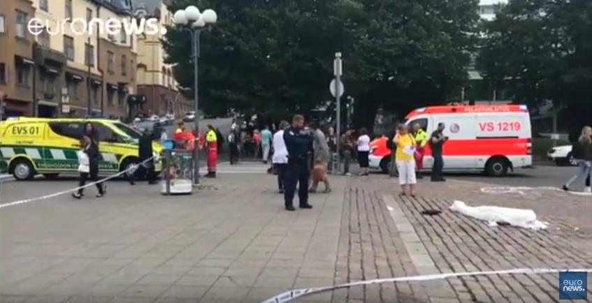 Нападение в Турку расследуется как теракт. Фото Скриншот Youtube