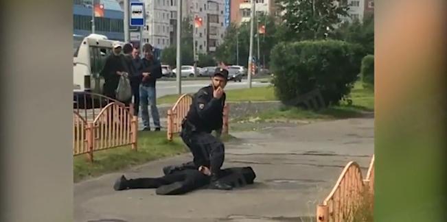 ИГ* взяло ответственность за нападение в Сургуте. Фото Скриншот Youtube