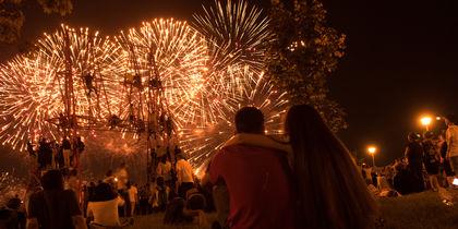 В Москве отгремел фестиваль фейерверков – лучшие фото