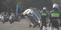 Столичные пожарные и медики устроили соревнования на скорость