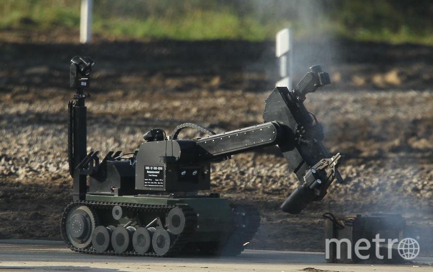 Военный робот. Фото Getty