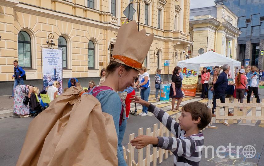 """В Петербурге прошел фестиваль """"Живые улицы""""."""