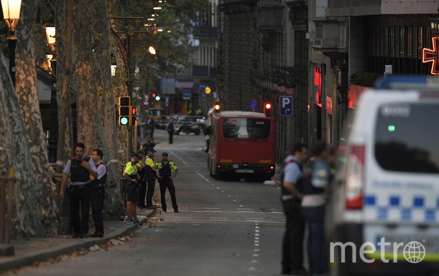 Теракт в Барселоне. Фото AFP