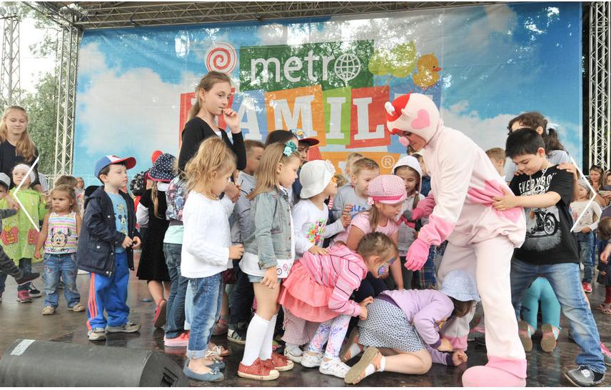 На Metro Family Day каждый найдёт развлечение по душе | Святослав Акимов.
