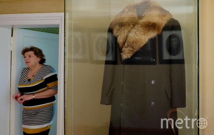 """Пальто из английского драпа подбито мехом барсука. Фото """"Metro"""""""