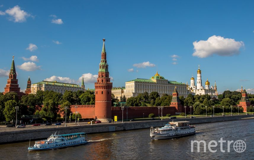 Летняя Москва. Фото AFP