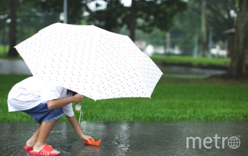 Дождливый дождь и просто дождь - такой будет погода в Петербурге. Фото Getty