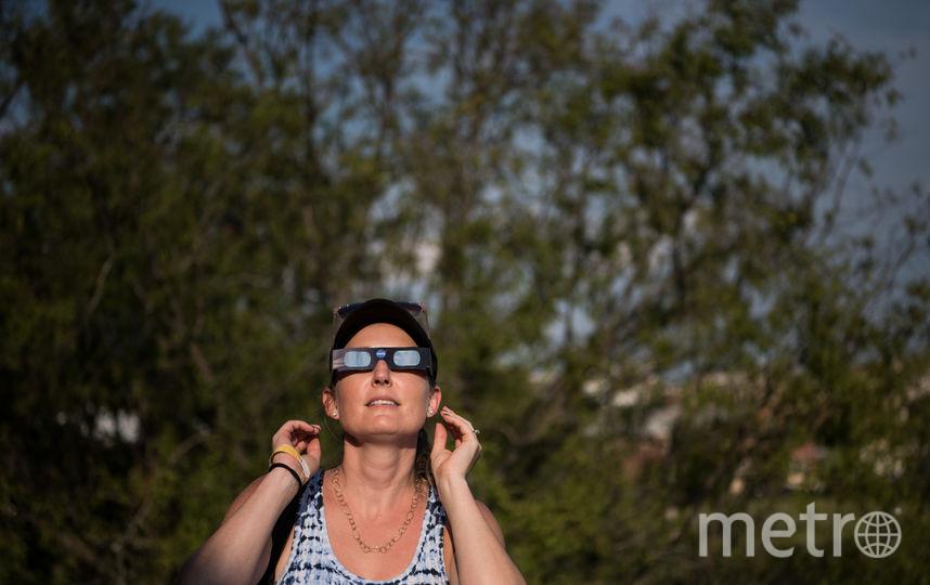 """В США ждут с нетерпением полного солнечного затмения, называя его """"Великим Американским"""". Фото Getty"""