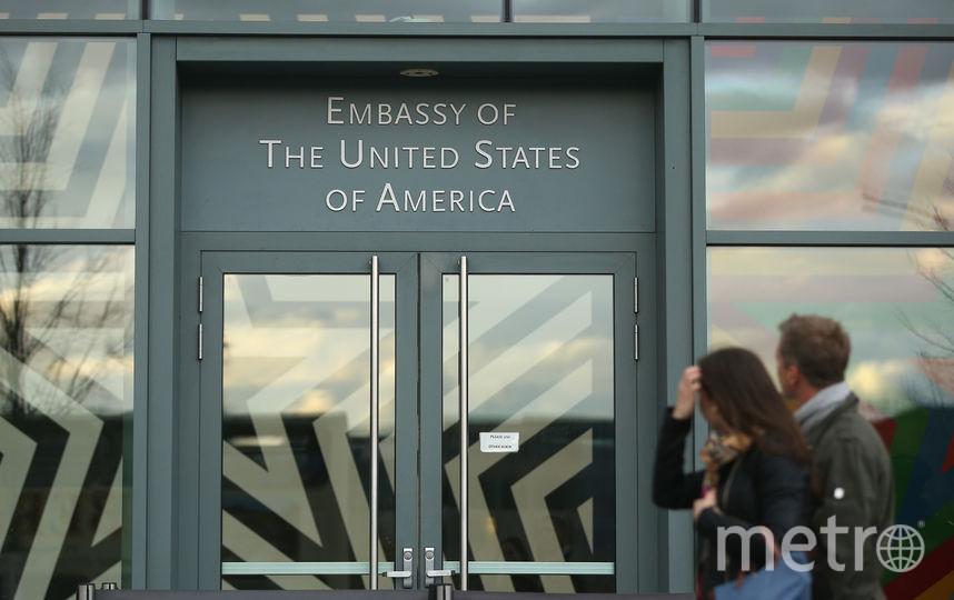 Посольство США. Фото Getty