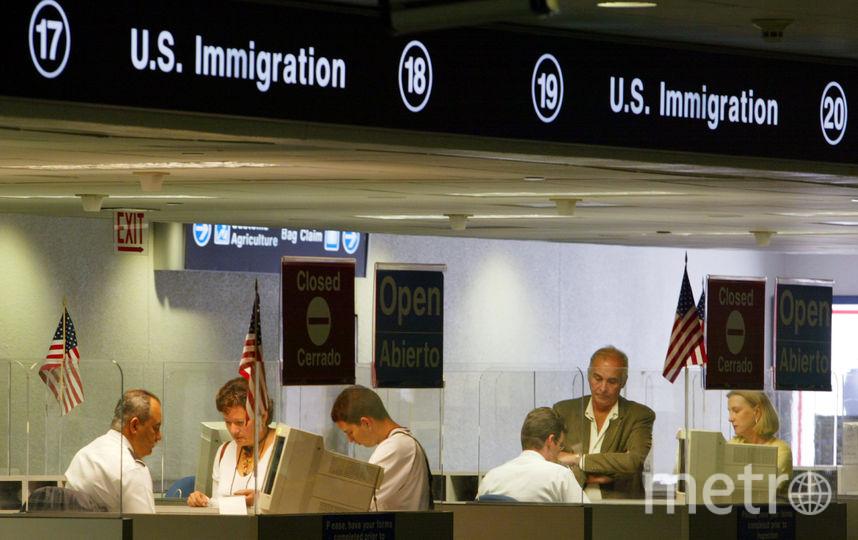 Паспортный контроль в США. Фото Getty