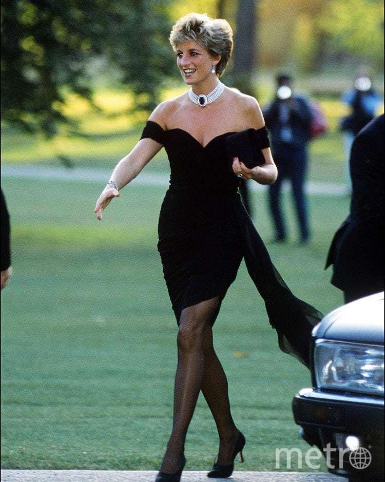 """""""Платье-месть"""" от Кристиана Стамболян. Этим платьем в 1994 году принцесса показала, что она не зависит от правил королевского дома. Фото Getty"""