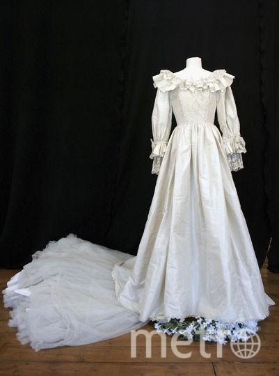 Свадебный наряд (1981 год). Это платье стало самым популярным в 80-е годы. Фото Getty
