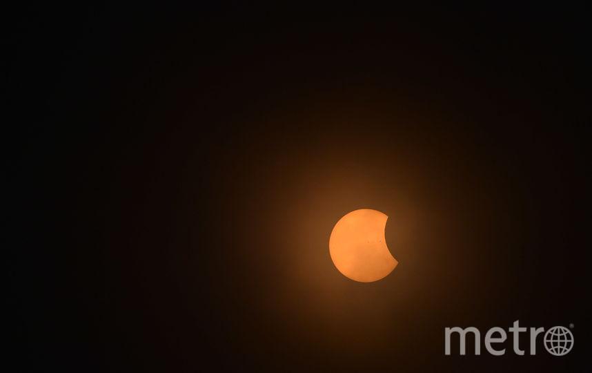 Солнечное затмение в США. Фото AFP