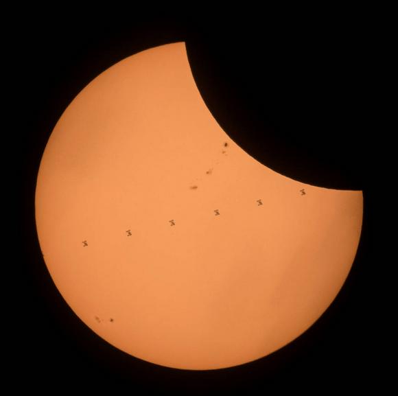 Великое солнечное затмение - 2017. Фото Скриншот www.nasa.gov