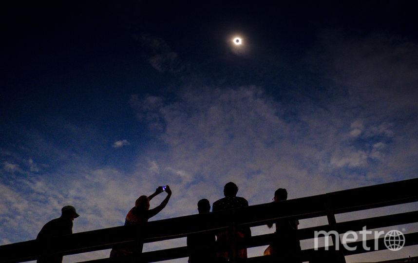 За затмением наблюдали миллионы американцев. Фото Getty