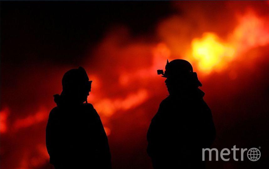 ВРостове несколько взрывов прогремели наместе пожара наТеатральном спуске