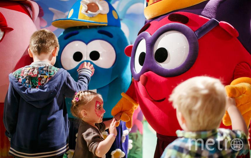 На главной сцене Metro Family Day состоится интерактивное представление от Театра-студии «Смешарики» | Гк «рики».