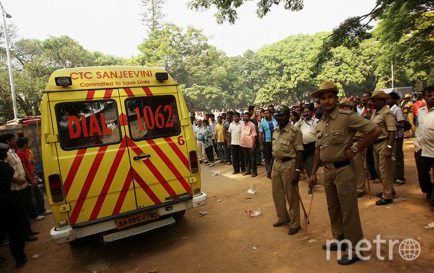 Скорая помощь в Индии. Фото Getty