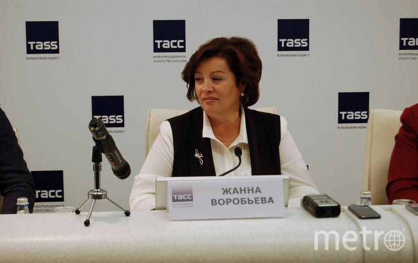 председатель Комитета по образованию Санкт-Петербурга Жанна Воробьёва. Фото http://gov.spb.ru